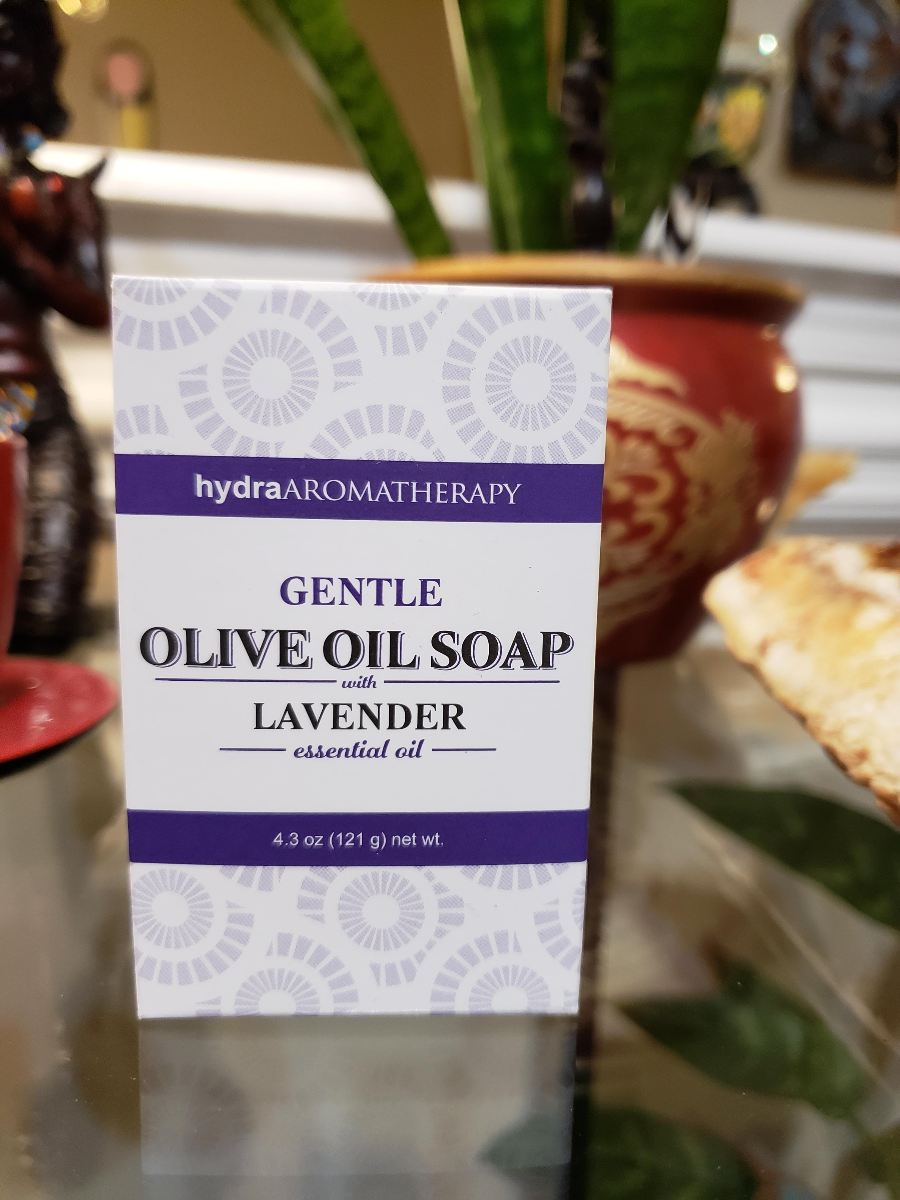 Aromatherapy Olive Oil Soaps - Lavender 3004-l
