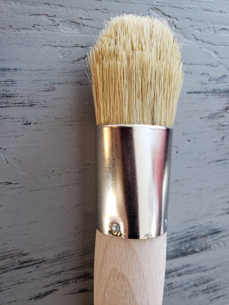 New! Blondie, Natural Bristle Chalky Paint Brush WS