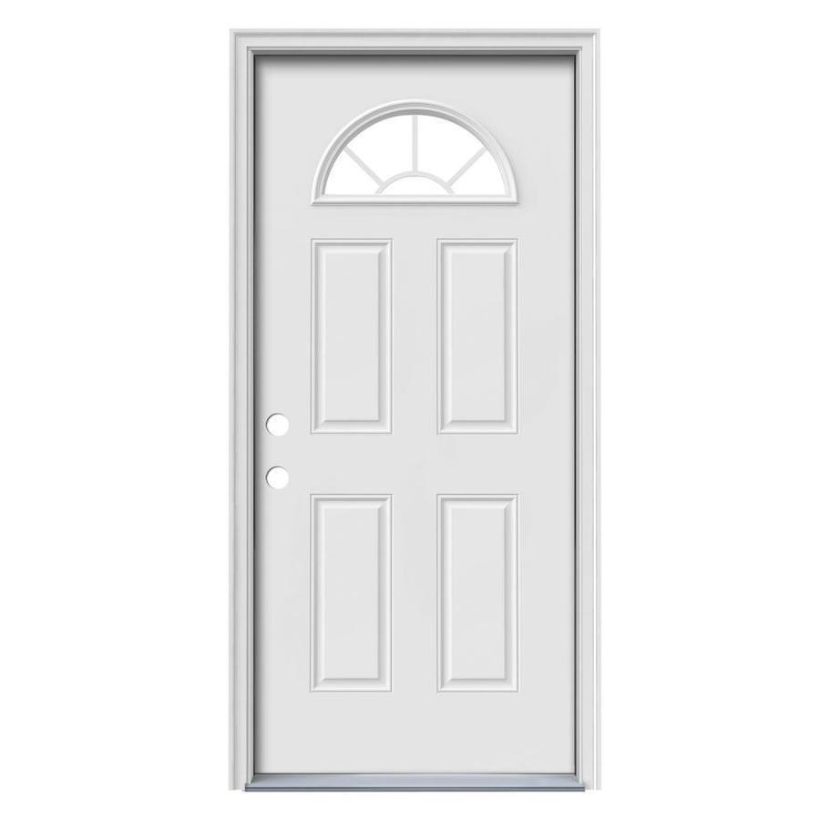32x74 Mobile Home Storm Door: Mobile Home Door I Standard Sunburst Steel Door