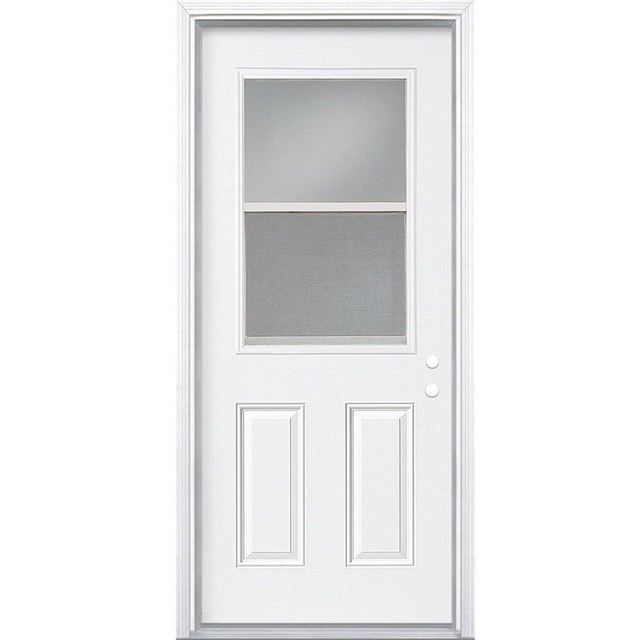 32x74 Mobile Home Storm Door: Mobile Home Door I Vertical Slide Steel Door