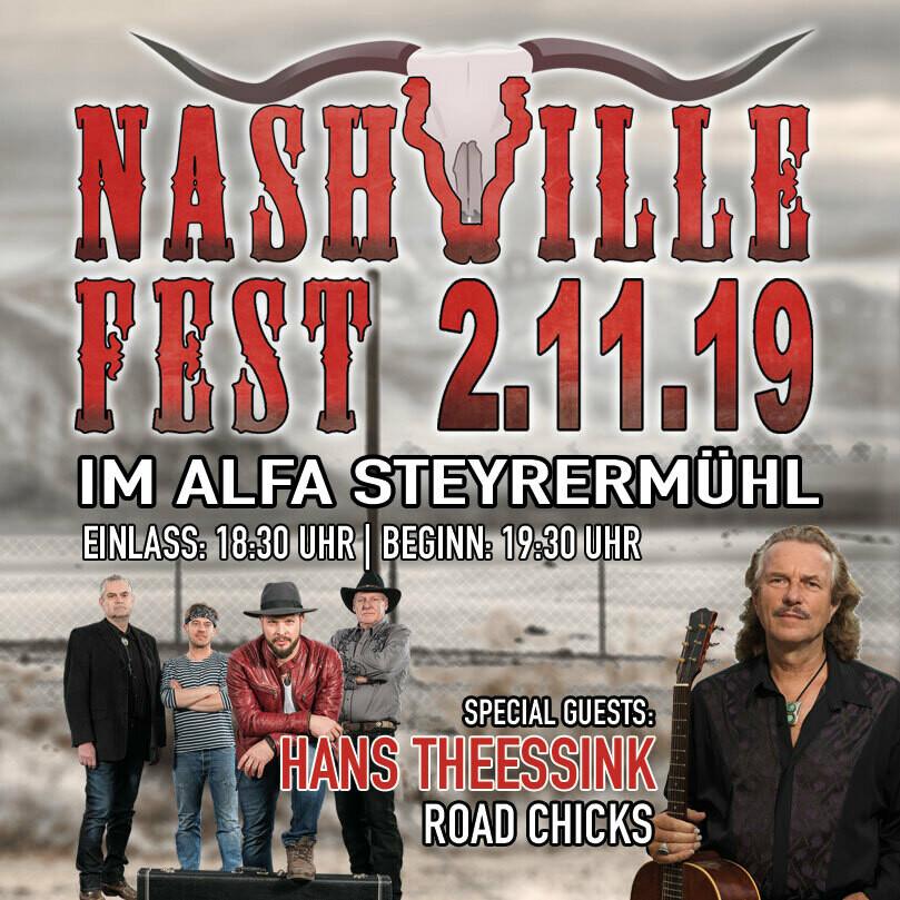 Nashville Fest im Alfa Steyrermühl - Stehplatz