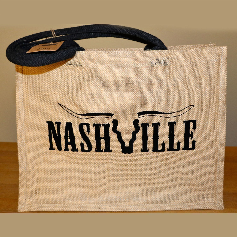 Nashville Jutetasche