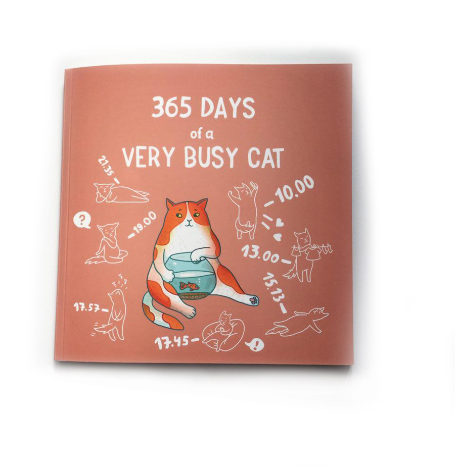 365 Days of a Very Busy Cat