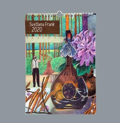 Svetlana Frank Calendar 2020