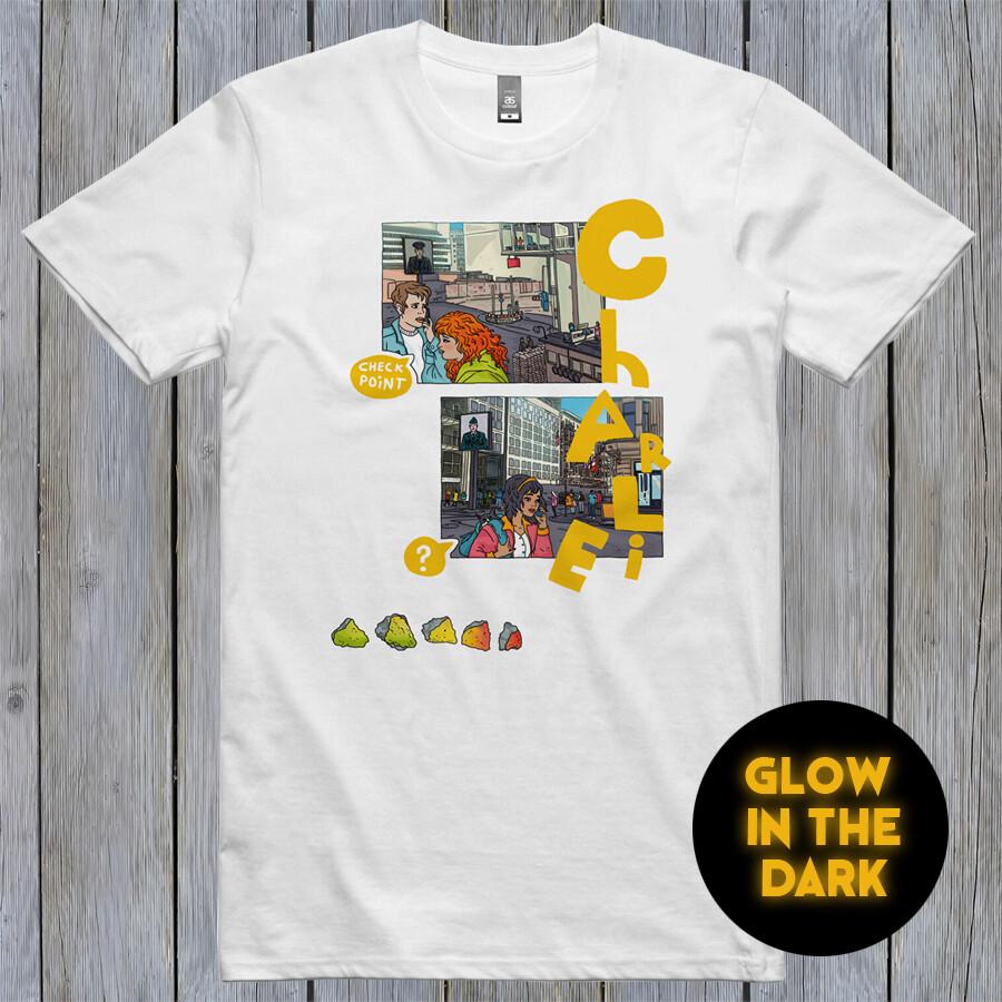 """Berlin Checkpoint Chalrie"" Shirt"