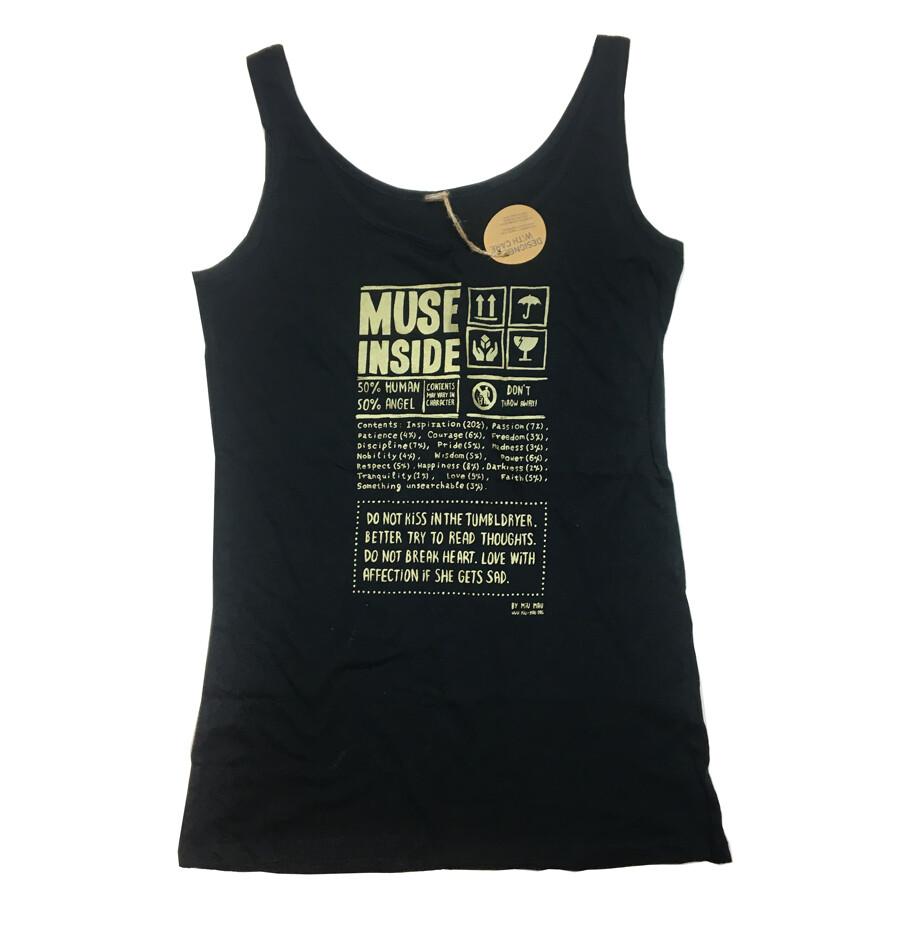 """Muse inside"" Shirt - M"