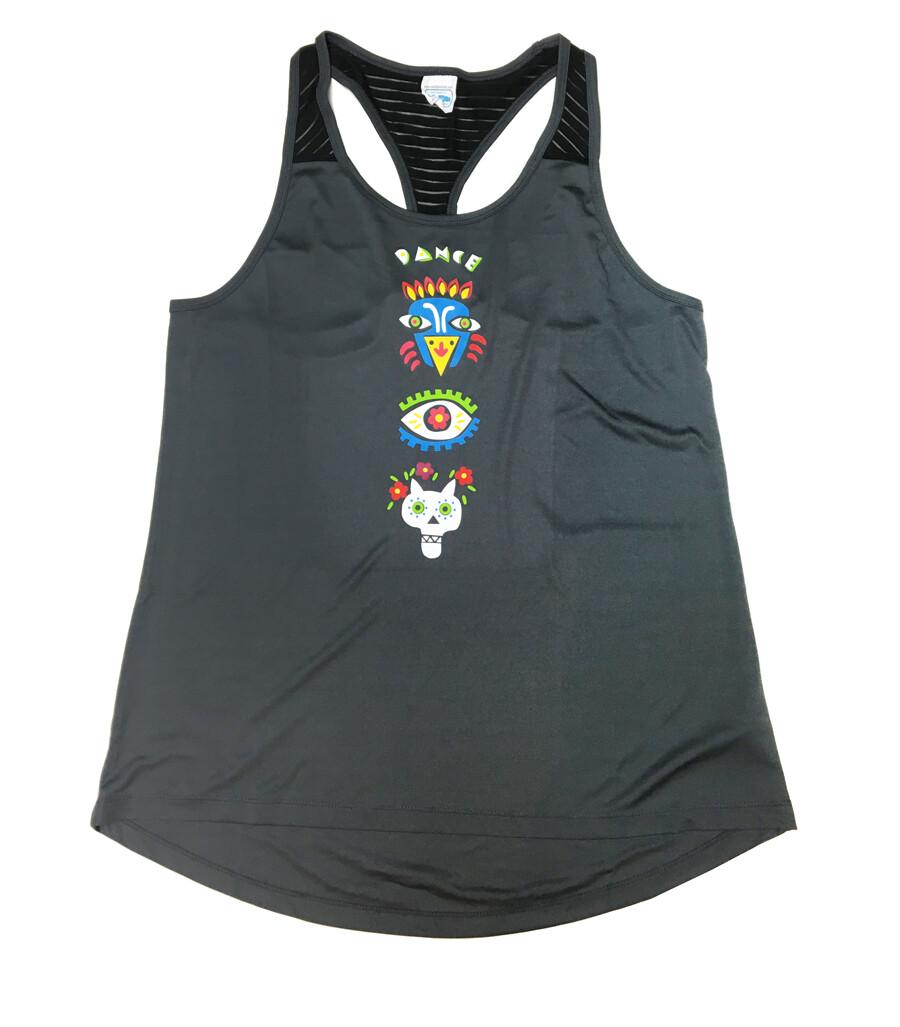 "Sporty Shirt ""Dance"" grey"