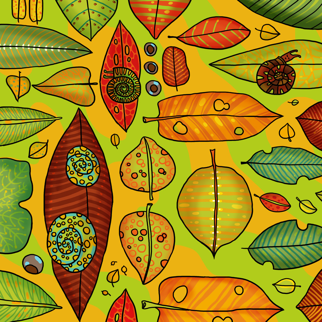 "Wallpaper ""Autumn"" 00670"