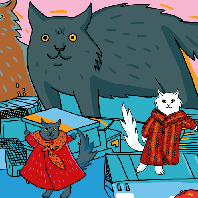 Dress-Up Cats 00693