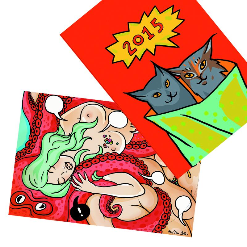 2 Pop-Up Cards 00698