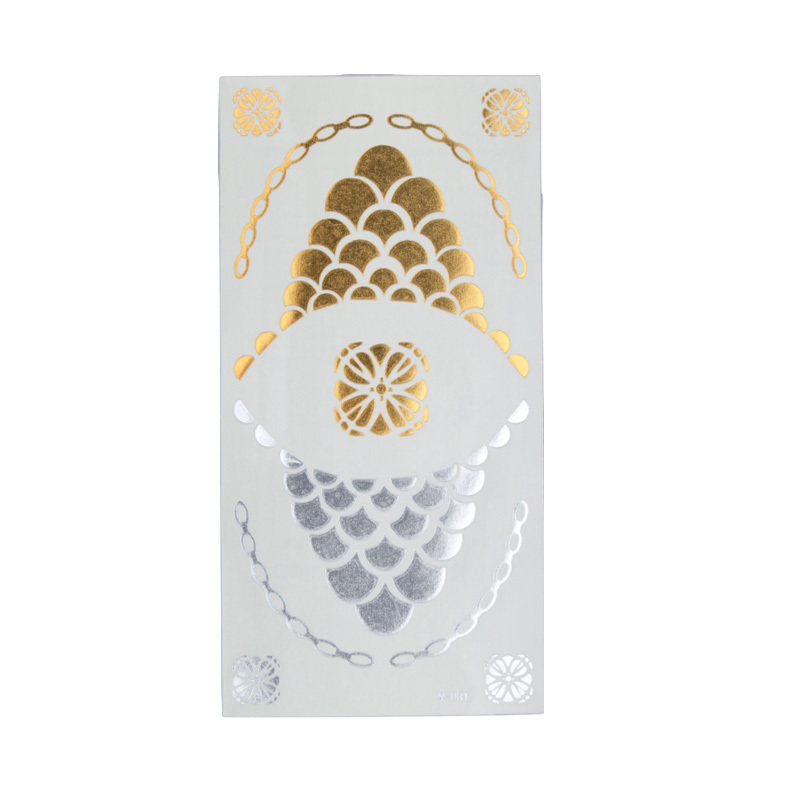 Flash Tattoo Gold for skin and nails SD8824