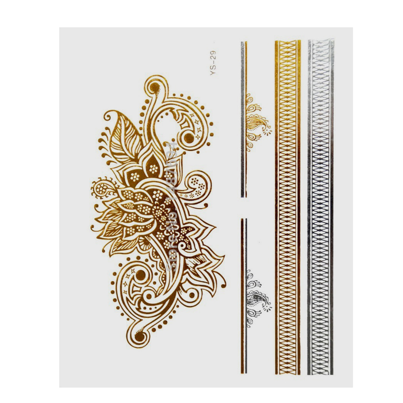 Flash Tattoo Gold for skin and nails YS291