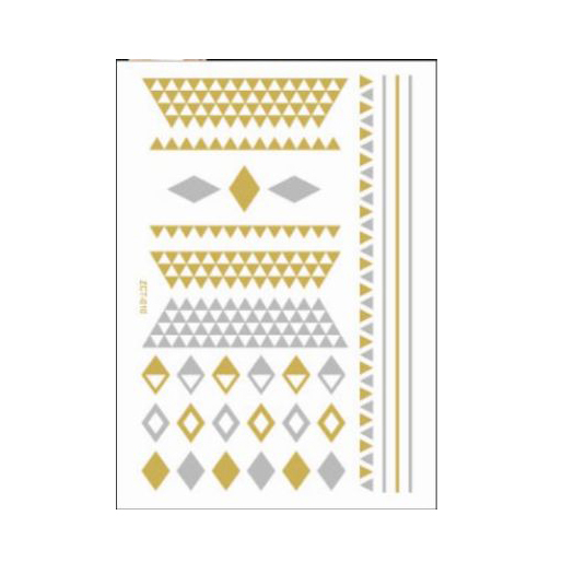 Flash Tattoo Gold for skin and nails TJ42