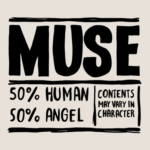 Muse inside tattoo (set of 2) 00261