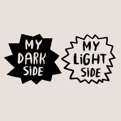My dark side tattoo (2 x 2) 00265