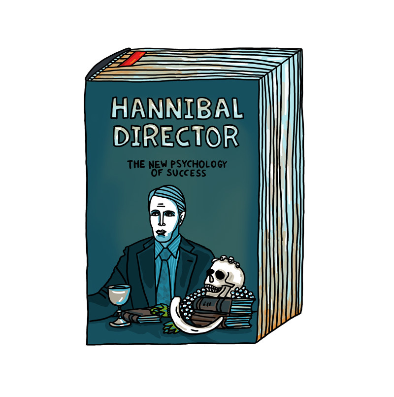 "Postcard: ""Hannibal Director - The New Psychology Of Success""​ 00787"