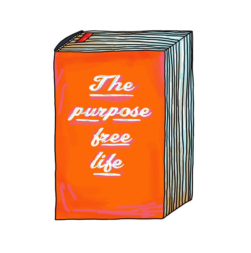 "Postcard: ""The Purpose Free Life"" 00788"