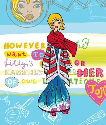 Tori - Paper doll dress up kit