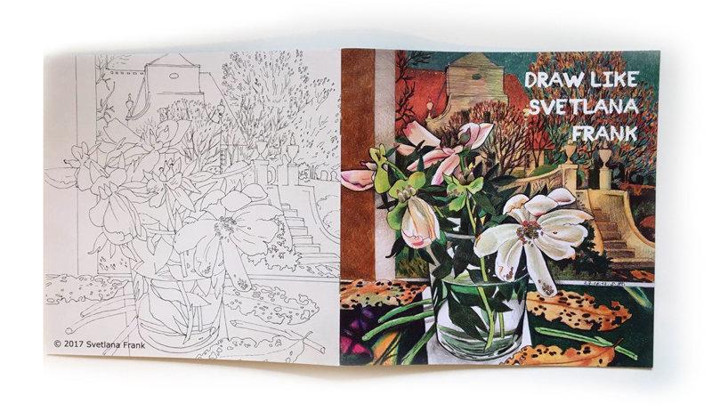 Drawing Like Svetlana Frank Coloring Book Vol. 1