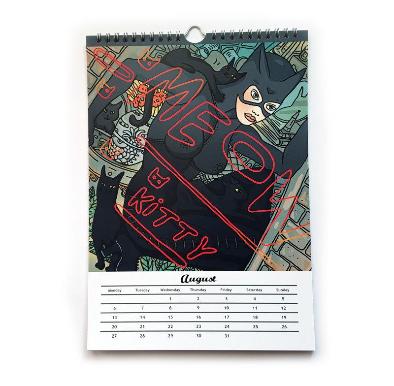 Sexy Calendar 2018 by Miu Mau