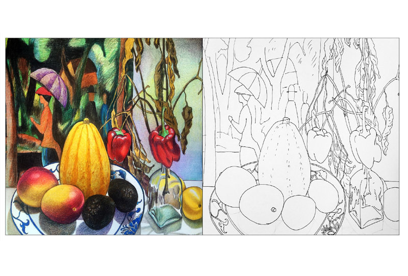 Drawing Like Svetlana Frank Coloring Book Vol. 3