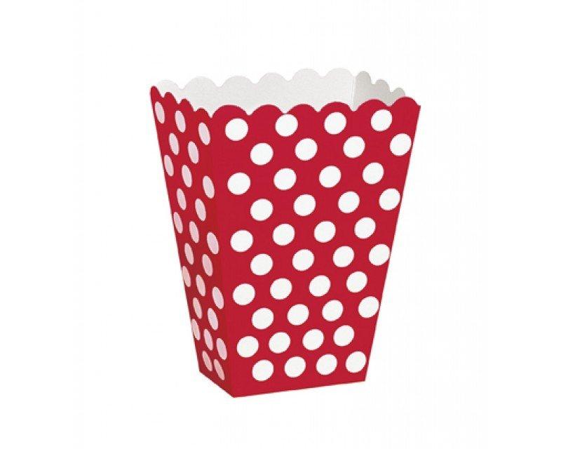 Red Popcorn Box 7x 00807