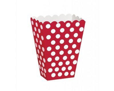 Red Popcorn Box 7x