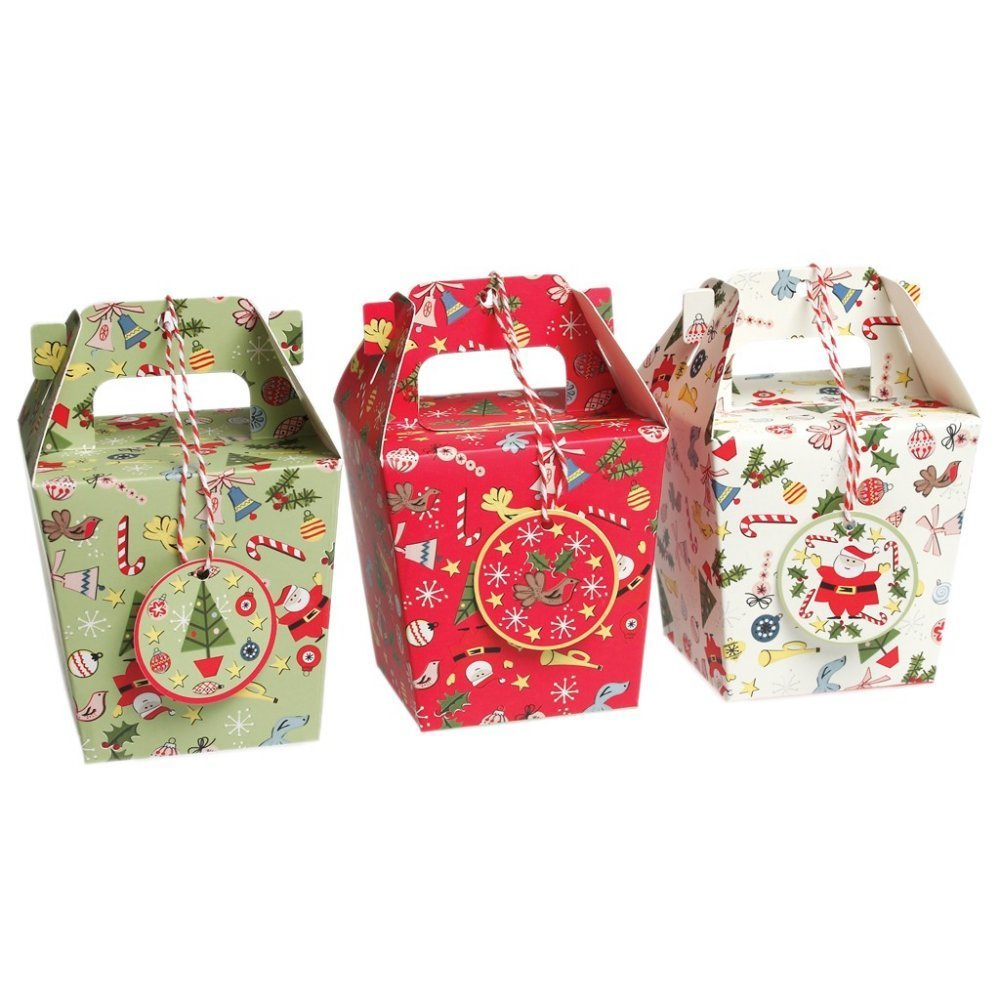 3 Panettone Christmas Gift Boxes 00812
