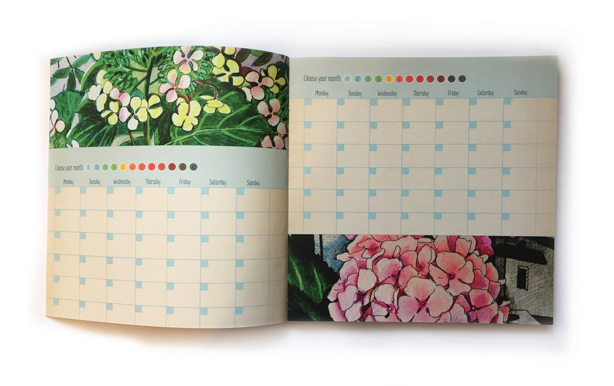 Beautiful Time Planner by Svetlana Frank