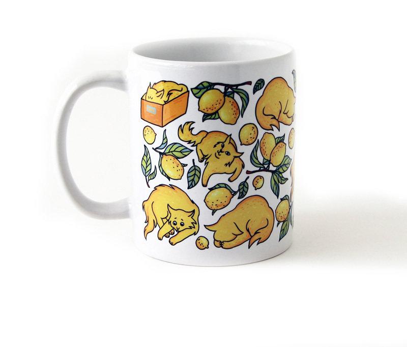 "Mug ""Lemon Cats"""