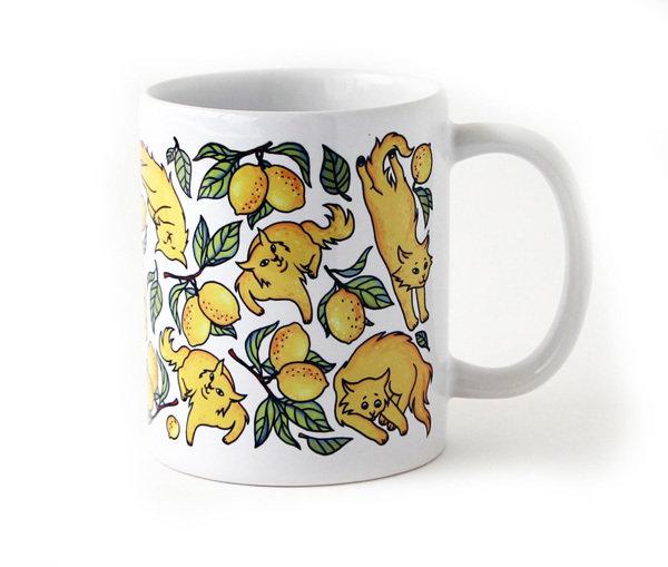 "Mug ""Lemon Cats"" 00845"