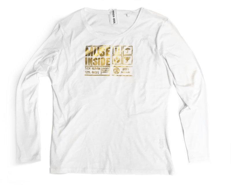 Muse Inside  Size L - matte gold mm18_001