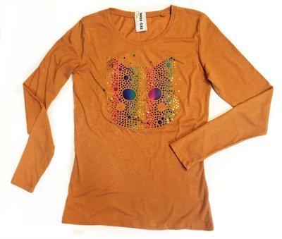 T-Shirt Nano Cat - rainbow (S)