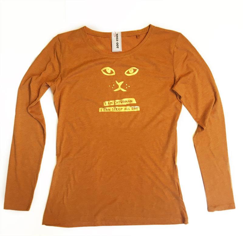 "Shirt ""I am catwoman"" (M)"