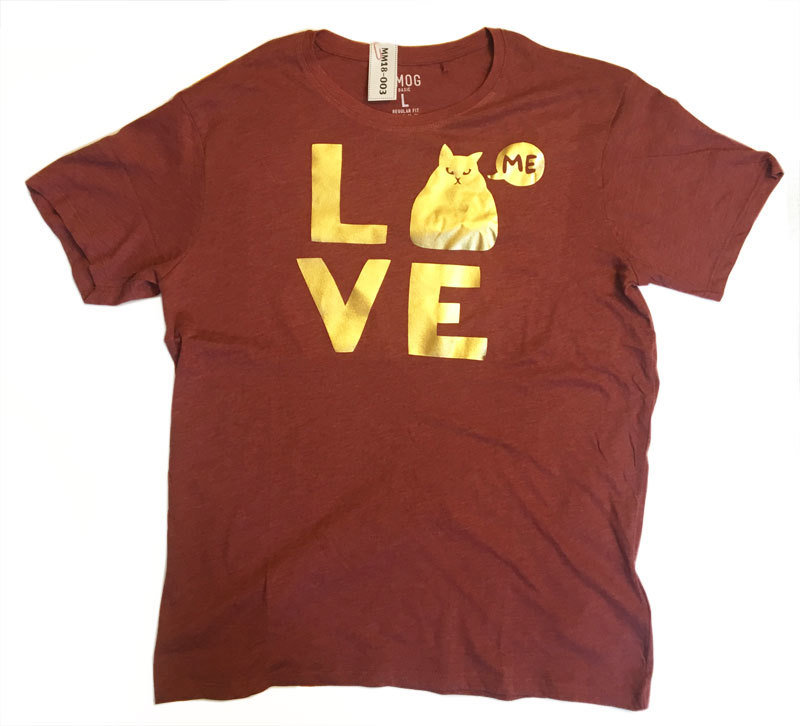 "Shirt ""LOVE me"" (L)"
