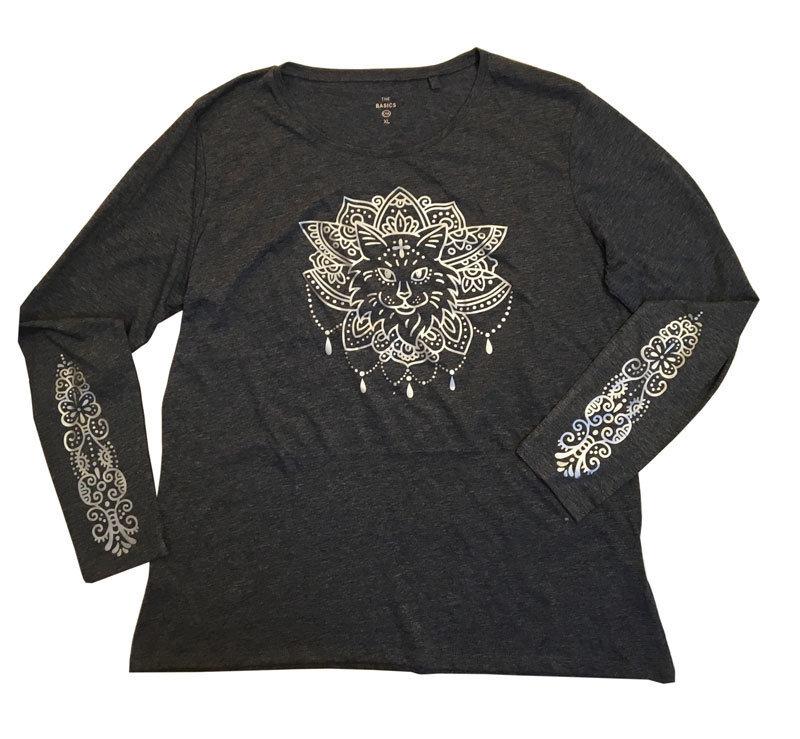 """Shirt """"Purrvana"""" (XL)"""