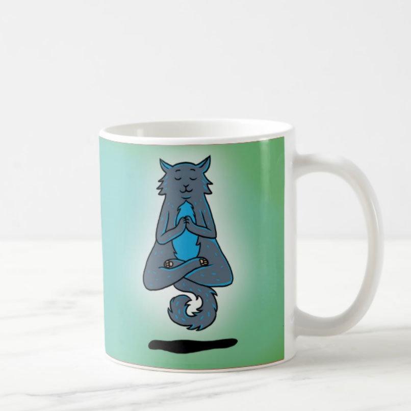 """Mug """"Yoga Cat"""""""