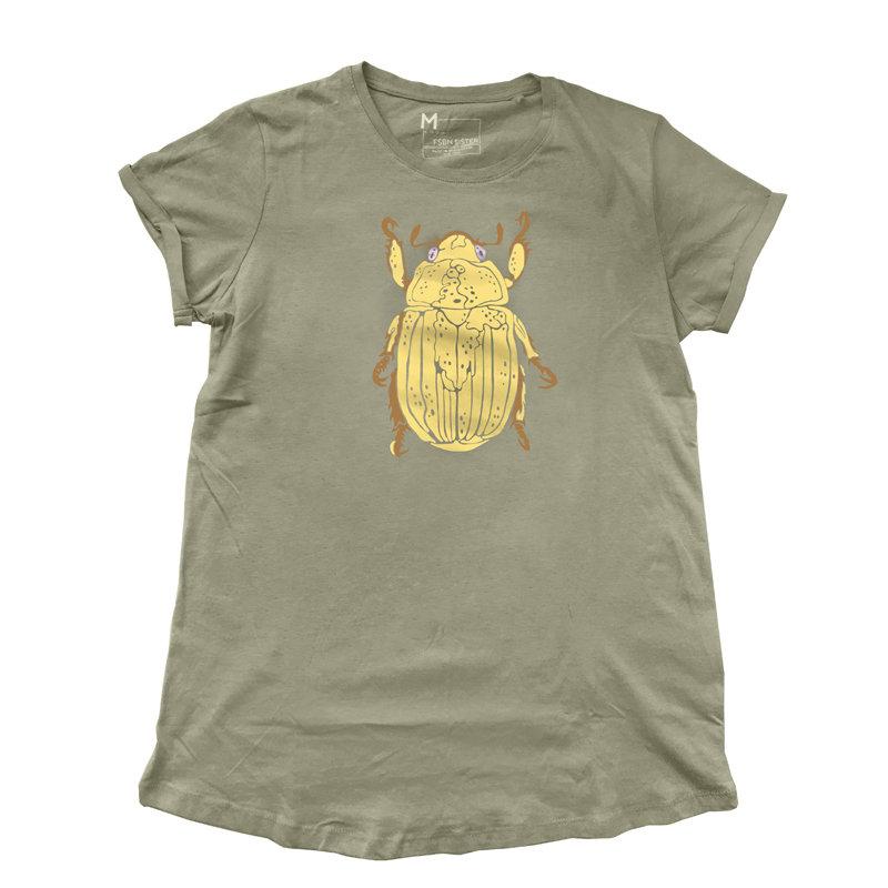 """Shirt """"BUG"""" (Army light)"""