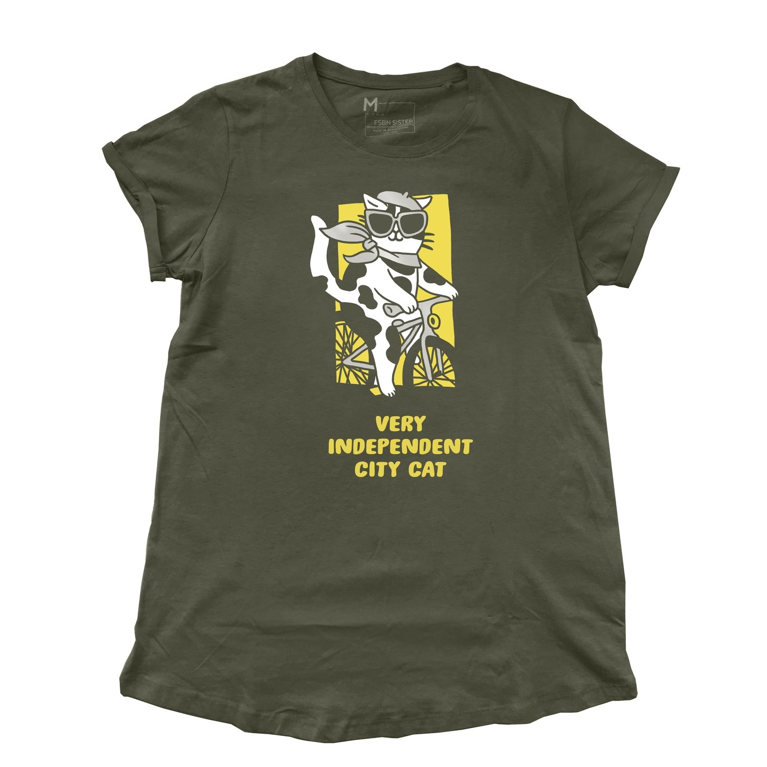 "Shirt ""City Cat"" army"