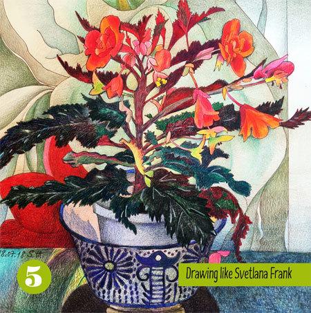 Drawing Like Svetlana Frank Coloring Book Vol. 5 01076