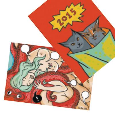 2 Pop-Up Cards