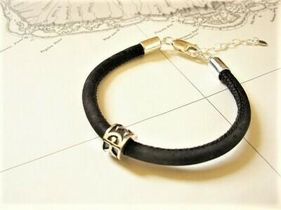 Indalo bracelet ~ 925 silver+ cork