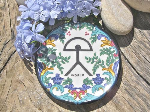 Spanish plate ~ Indalo mar menor