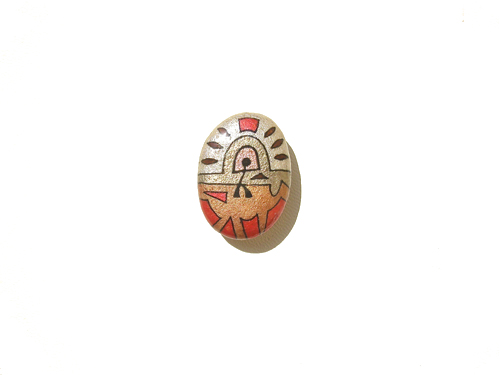 VITALITY: Lucky charm stone fridge magnet