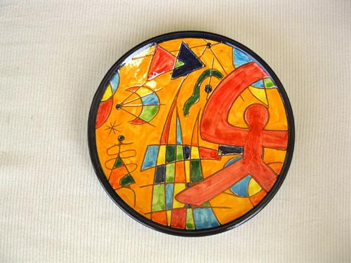 Spanish Plate ~ Indalo, molino