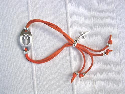 Camino bracelet Compostela ft St James cross