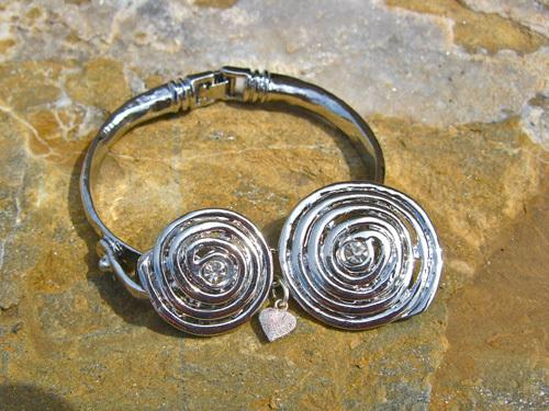 Always & forever stardust heart bracelet