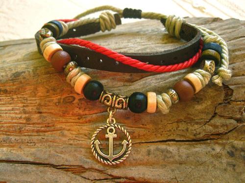 ANCHOR NaturalSoul bracelet ~ rowan