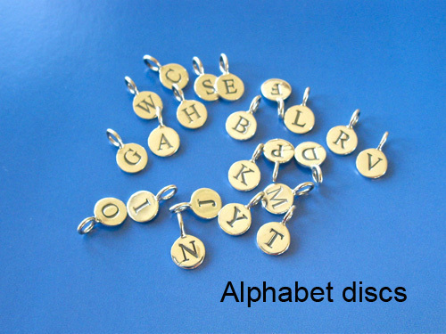 Life Path / Zodiac jewelry - additional Letter charms