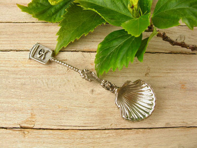 Camino scallop shell spoon ~ ft Indalo